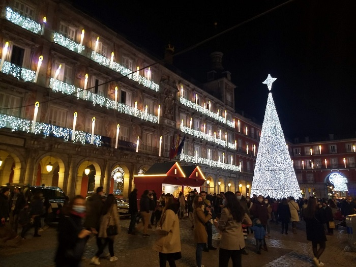 Karácsonyfa-Plaza-Mayor