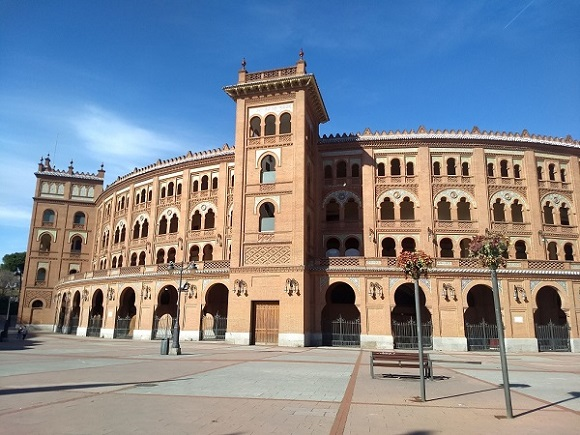 Madrid-Plaza-de-Toros-de-las-Ventas-bikaviadal-aréna