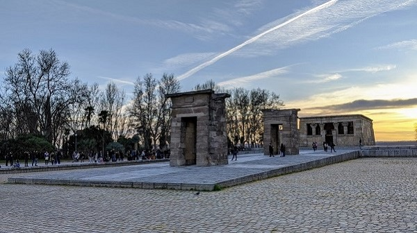 naplemente-Templo-de-Debod